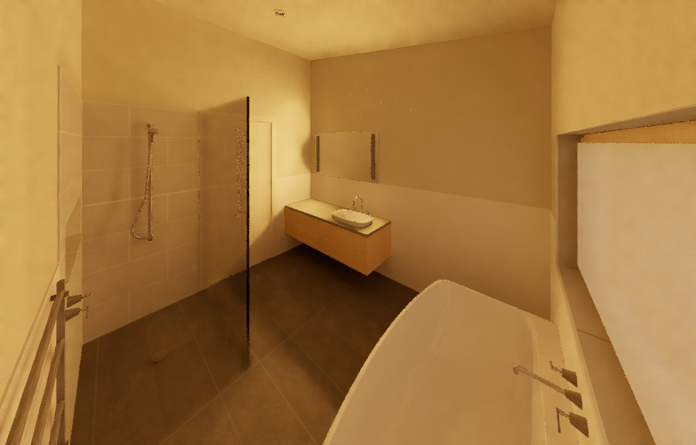 Riddells Creek Passive House-Bathroom