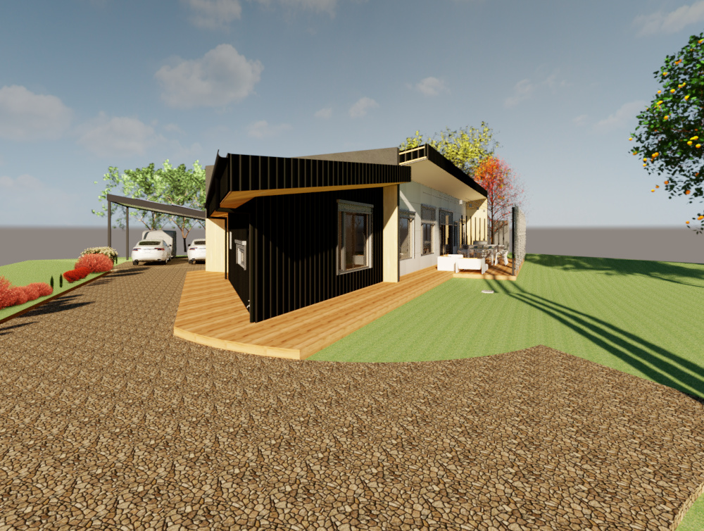 Riddells Creek Passive House-