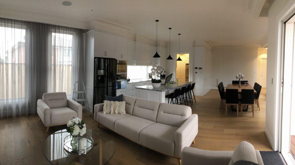 Sunbury House- Open Living Area